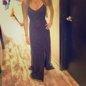 Adrianna Papell Purple Dress